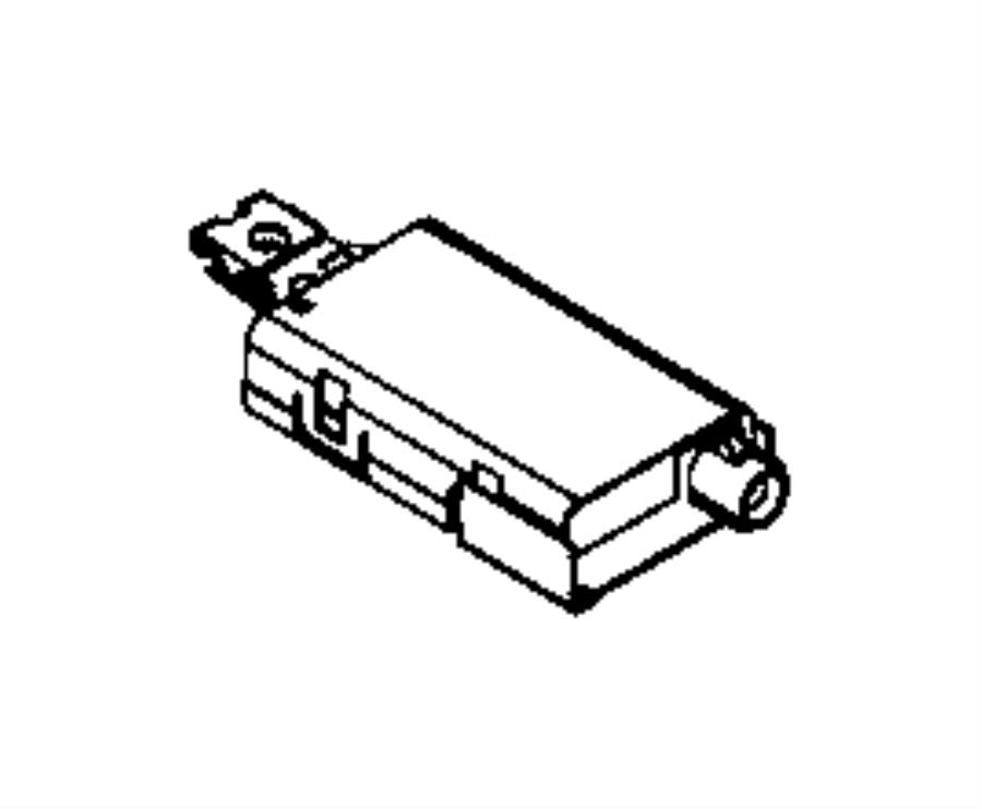Jeep Renegade Amplifier. Antenna. Export. Audio