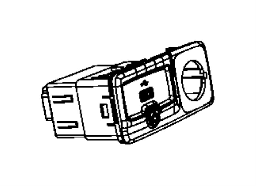 Jeep Renegade Usb. Charging port. Export, us, canada