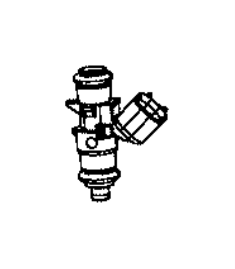 Chrysler Voyager Injector. Fuel. Includes: o-rings