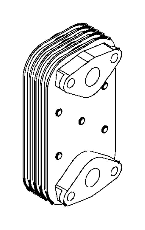 Ram 2500 Cooler. Engine oil. Heater, block, ventilation