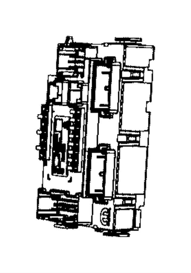 2017 Jeep Renegade Module. Body controller. [mechanical