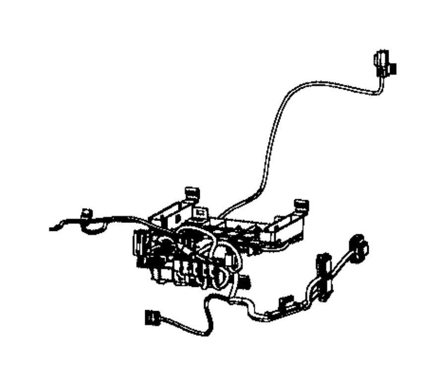 Dodge Challenger Wiring. Seat cushion. Driver. Trim