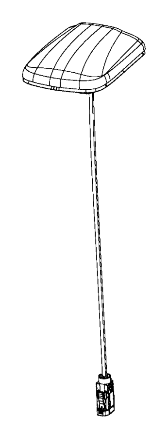 Ram 2500 Antenna. Used for: cable and base assy. Radio