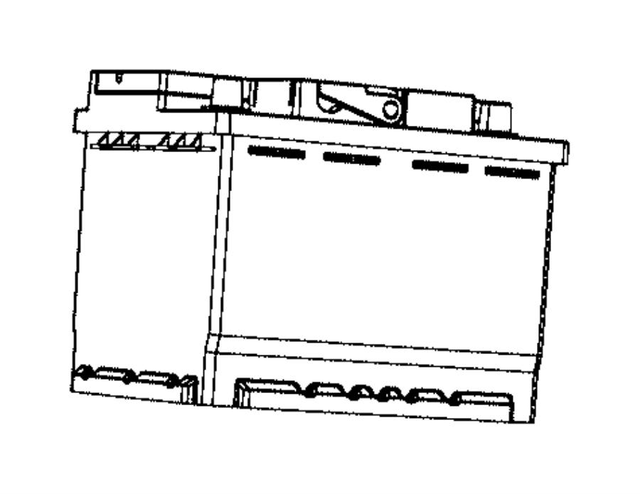 2006 Chrysler Crossfire Battery. Storage. Us. Amp