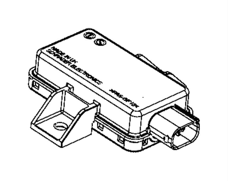 2015 Ram 3500 Module. Tire pressure monitoring. [tire