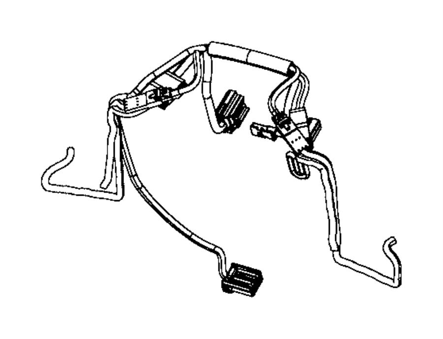 Chrysler 300 Wiring. Steering wheel. Trim: [no description