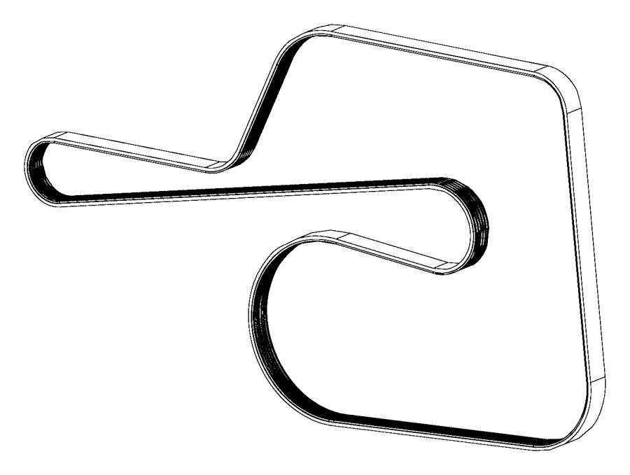 2016 Dodge Challenger Belt. Serpentine. [power hydraulic