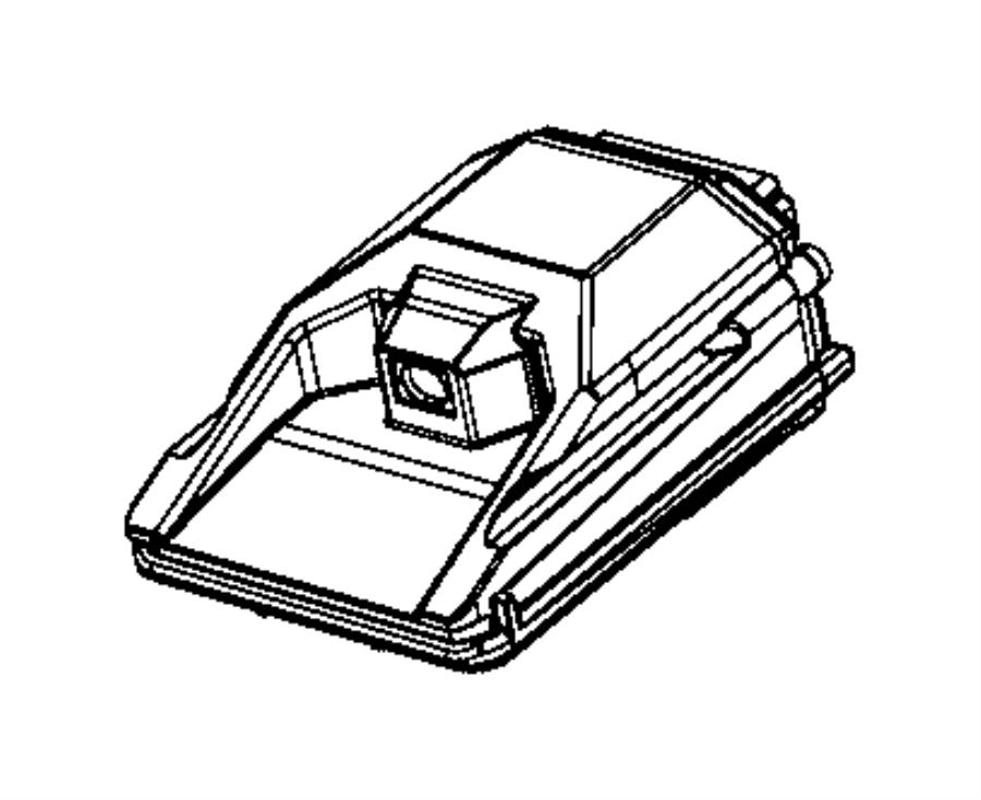 Chrysler 300 Camera. Forward facing. Control, warning