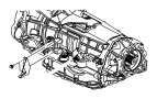 2007 Jeep Grand Cherokee Bracket. Shift cable. With [floor