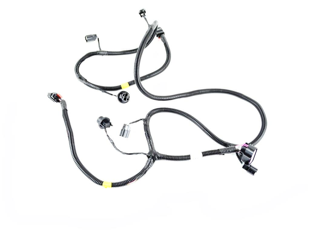 Jeep Grand Cherokee Wiring. Rear fascia. Park, assist