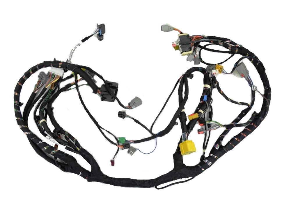Dodge Challenger Wiring. Instrument panel. [instrument