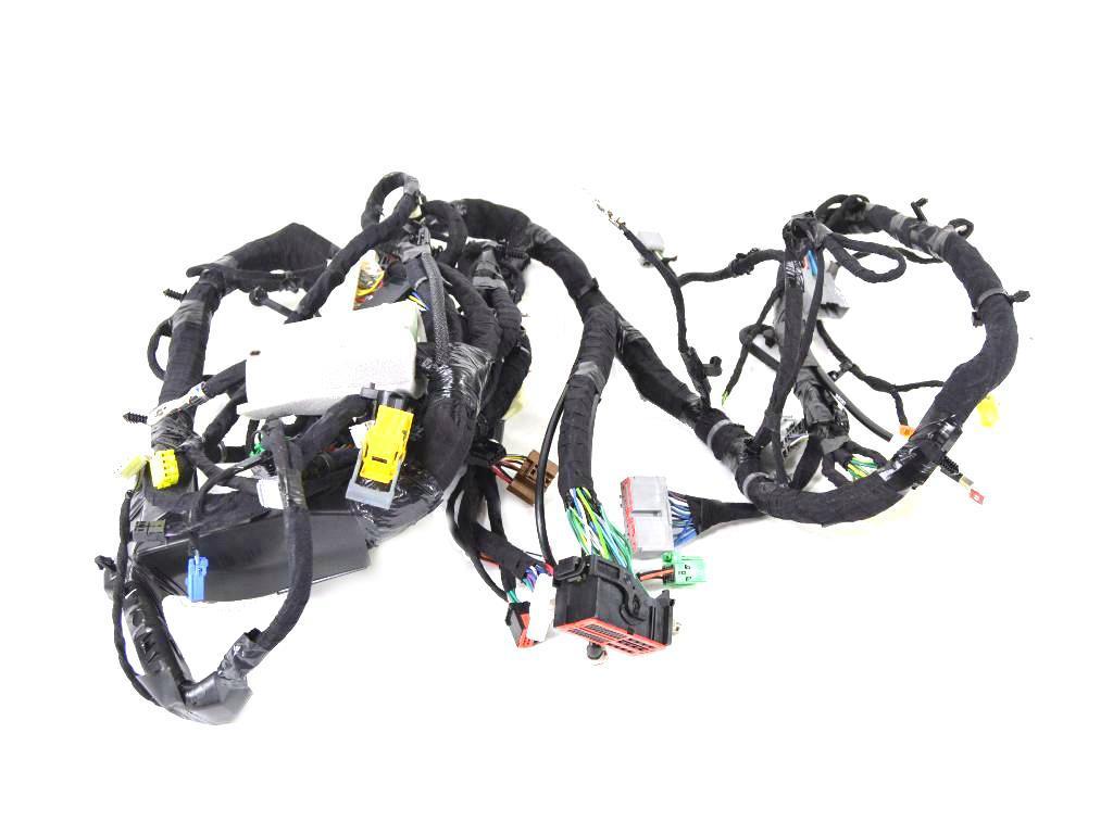 Ram 1500 Wiring. Instrument panel. View, rear, mirror