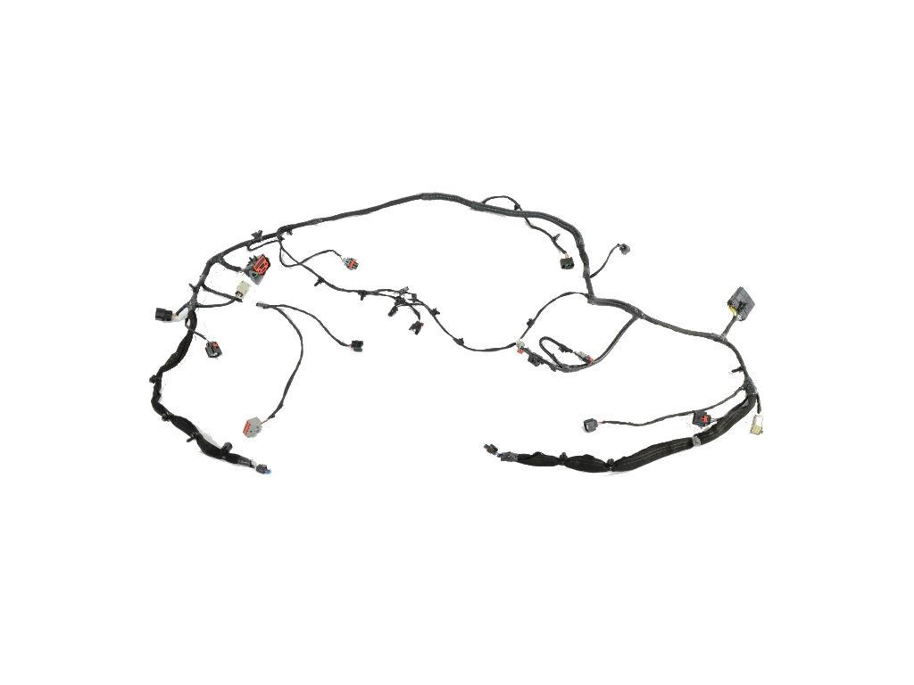 Dodge Durango Wiring. Front end module. Low, hid