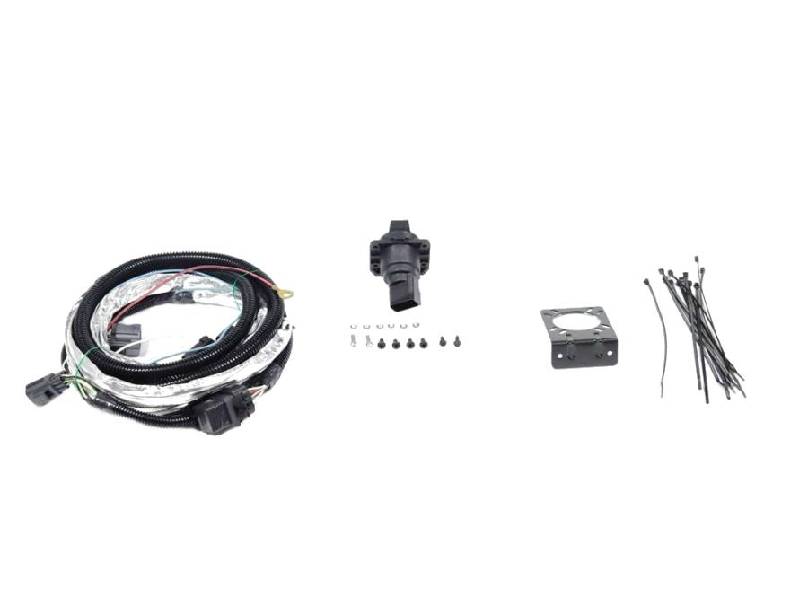 Jeep Wrangler Complete Harness, 7-way round trailer