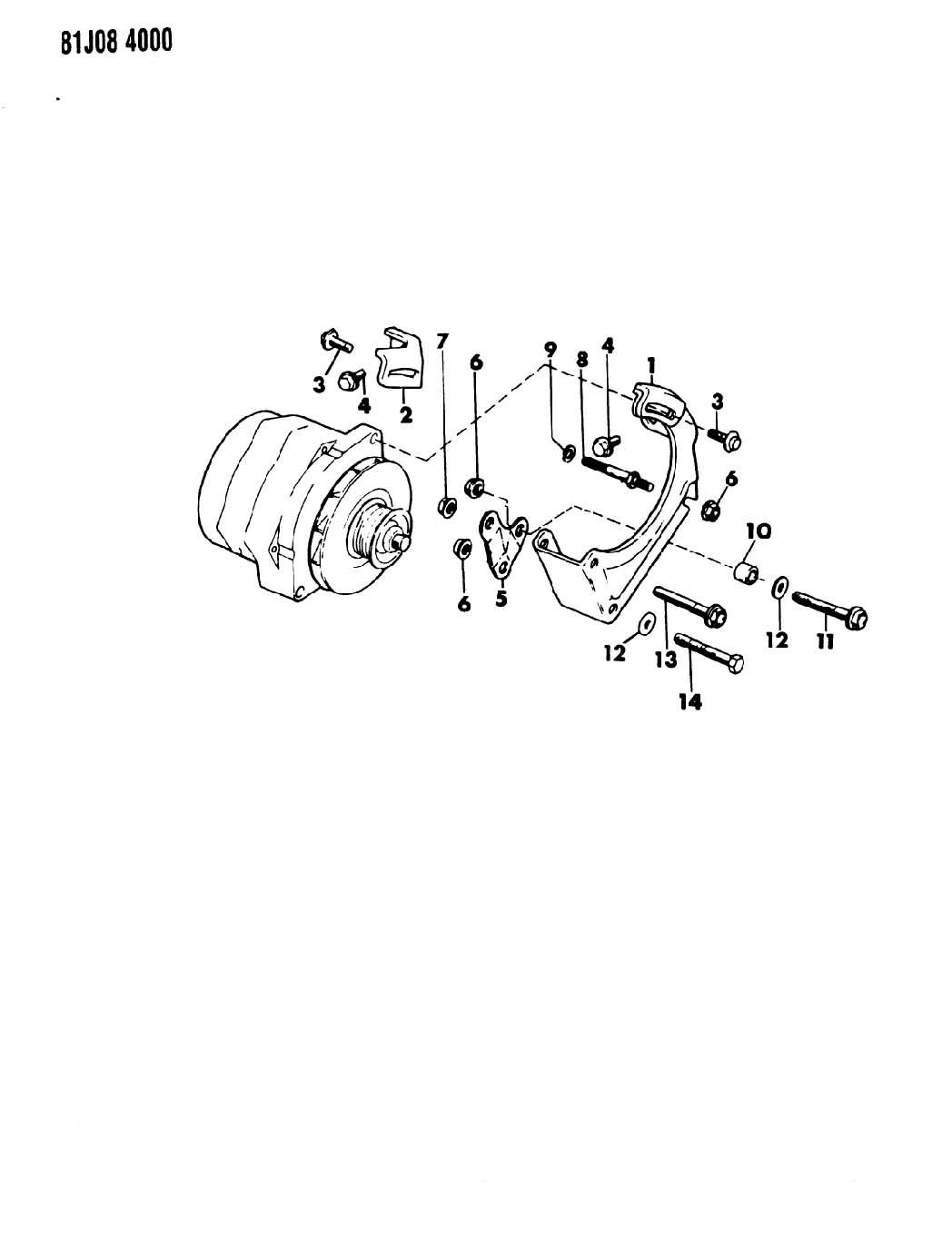 Dodge Intrepid Screw. Hex head. M8x1.25x25. Also serviced