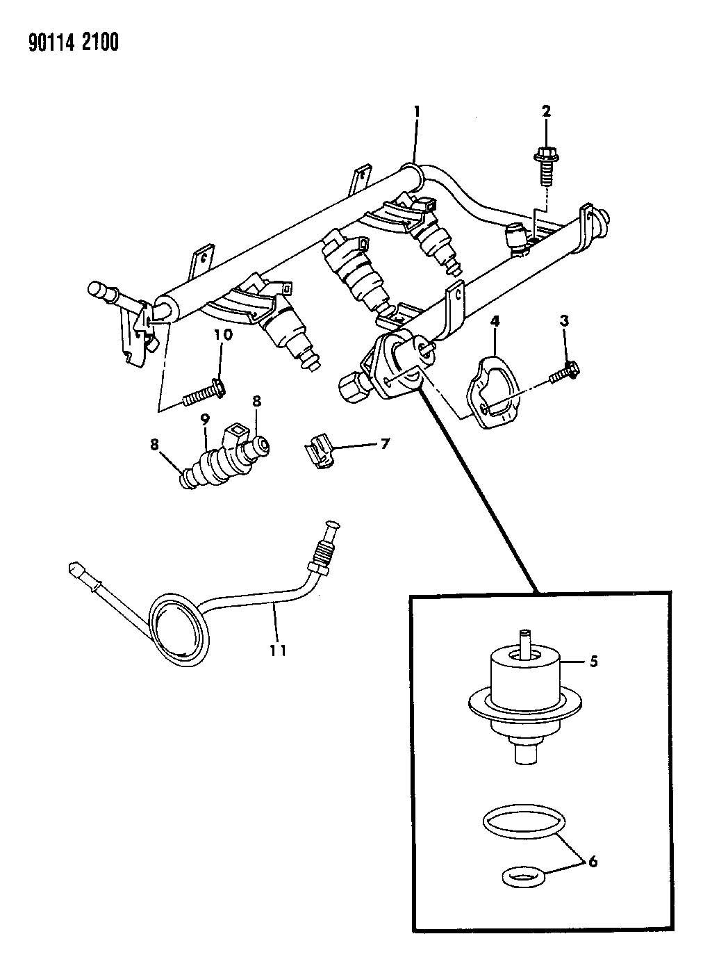 Jeep Compass O Ring Kit Fuel Injector Ees