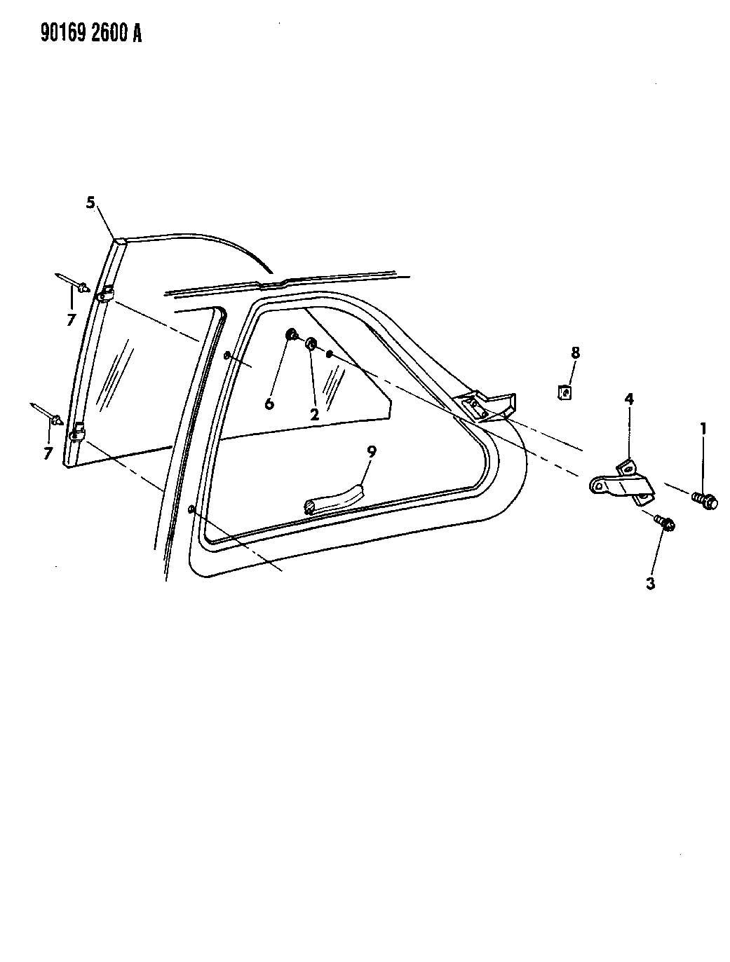 Dodge Caravan Rivet. 25x.110/.189. Used for: upper and