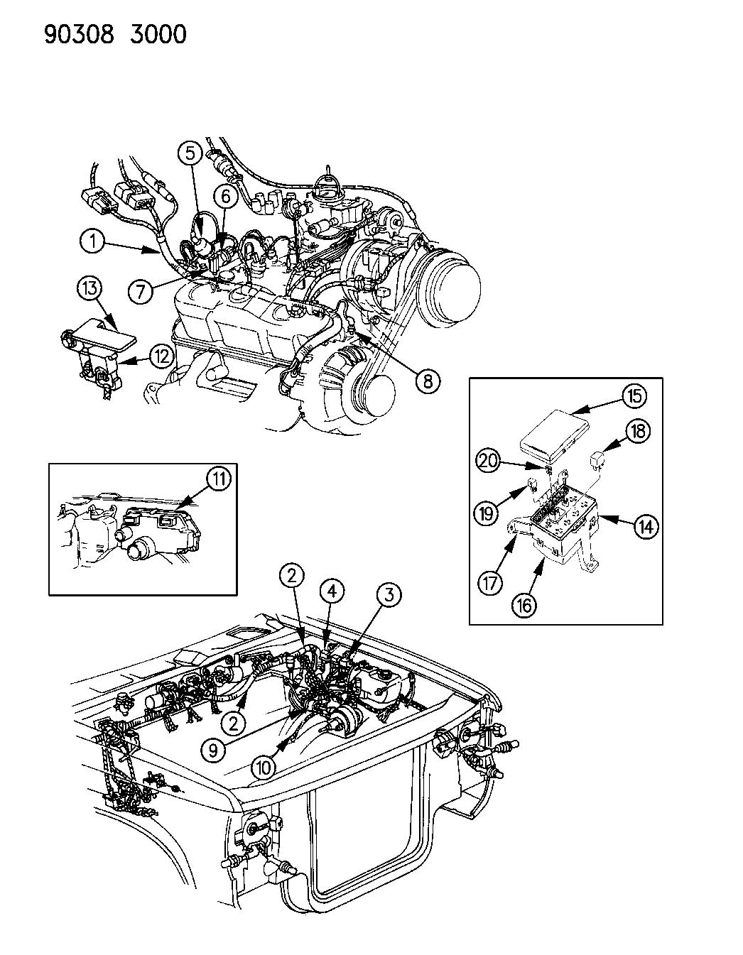 Dodge Durango Cartridge. Fuseable link. 30 amp, pink