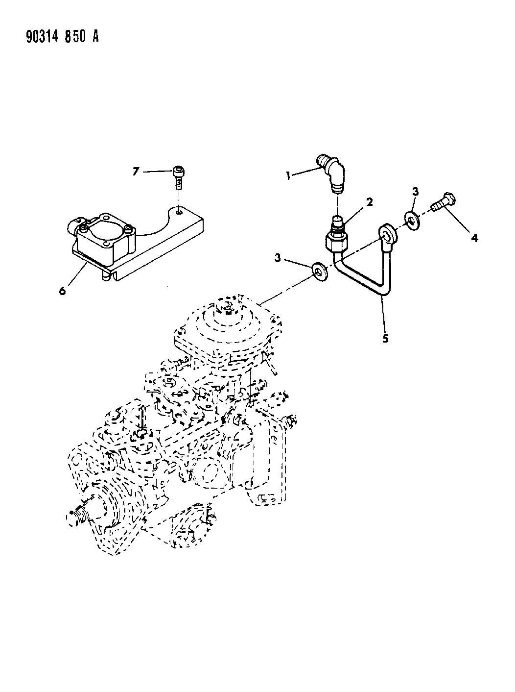 Dodge Ram 2500 Washer. Plain. Sealing, plumbingdiesel