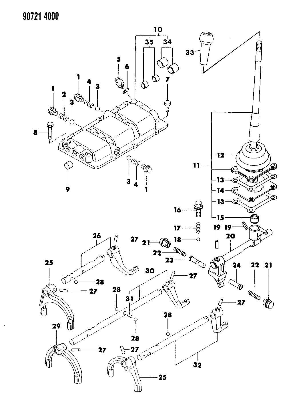 Chrysler Grand Voyager Bolt. Hex flange head. M8x45