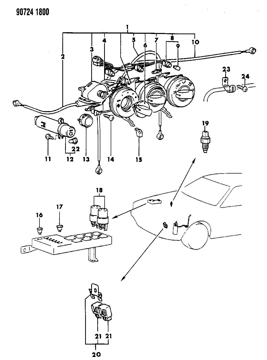 6 bulb lamp wiring diagram