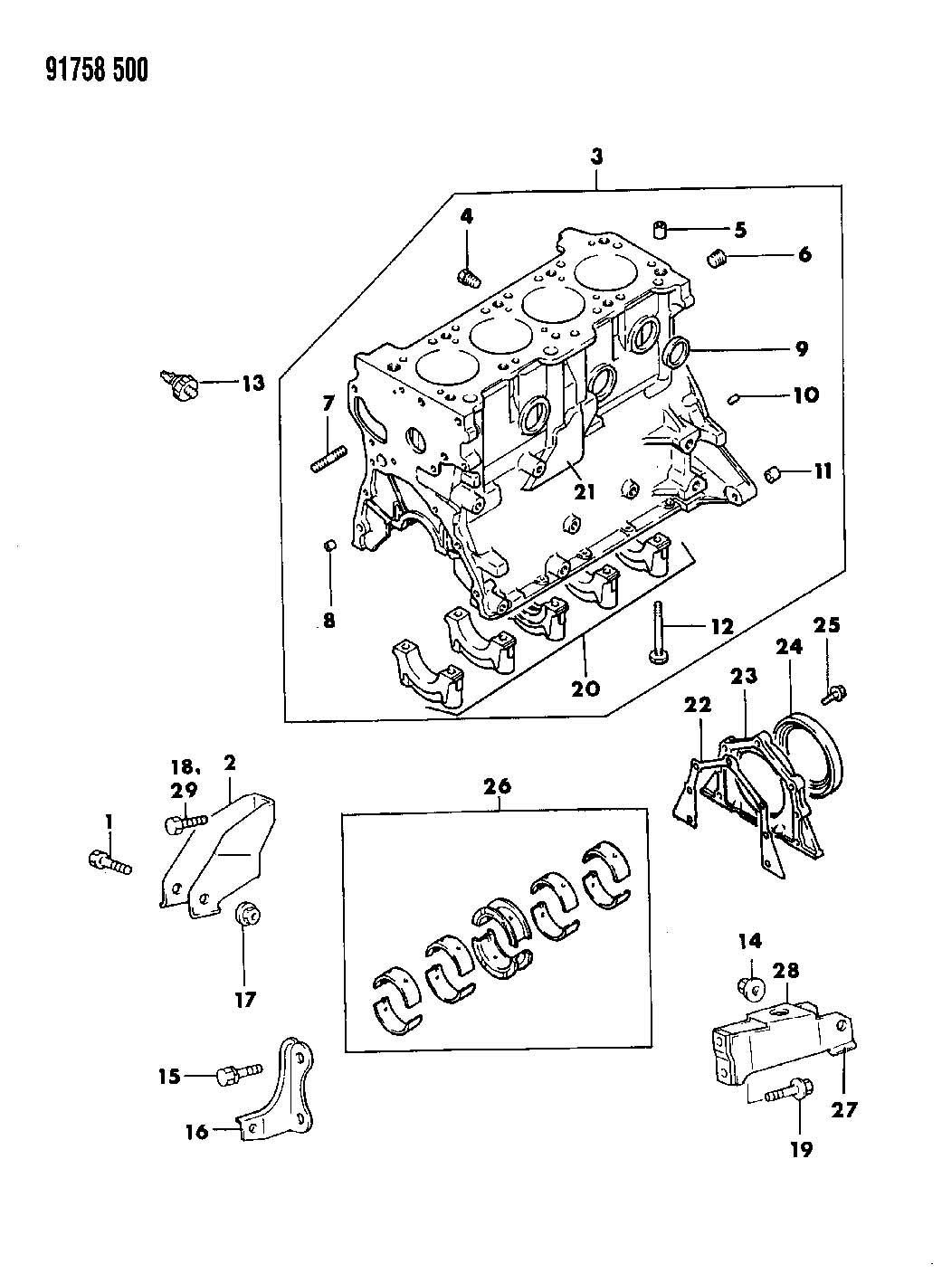 Chrysler Voyager Plug. Instrument panel switch. Cylinder