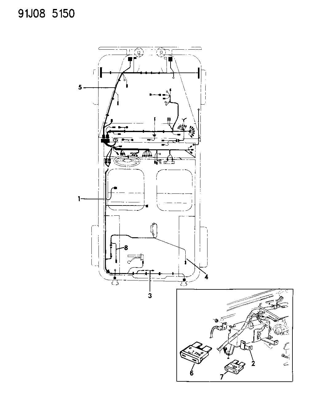 Dodge Viper Fuse Maxi 20 Amp Yellow
