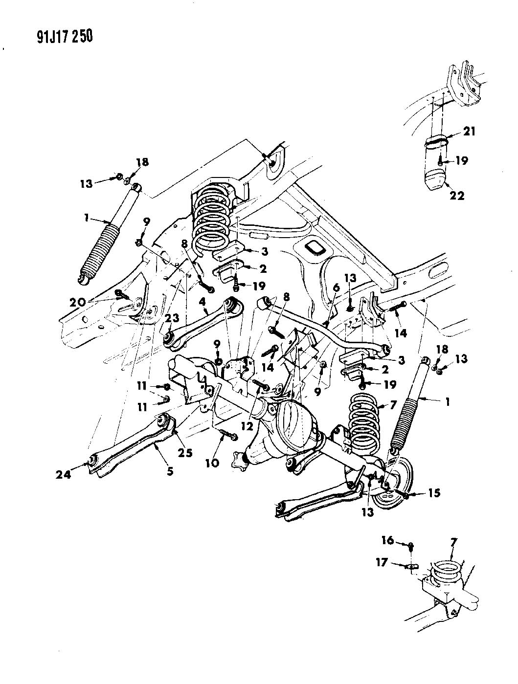 Jeep Grand Cherokee Arm. Lower control. Rear. With