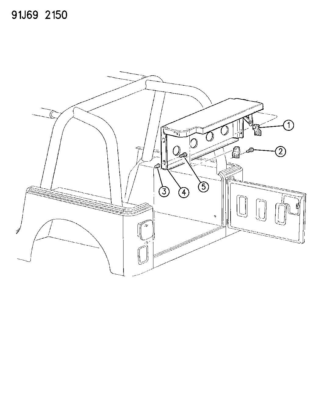 Jeep Wrangler Add A Trunk Wrangler Yj