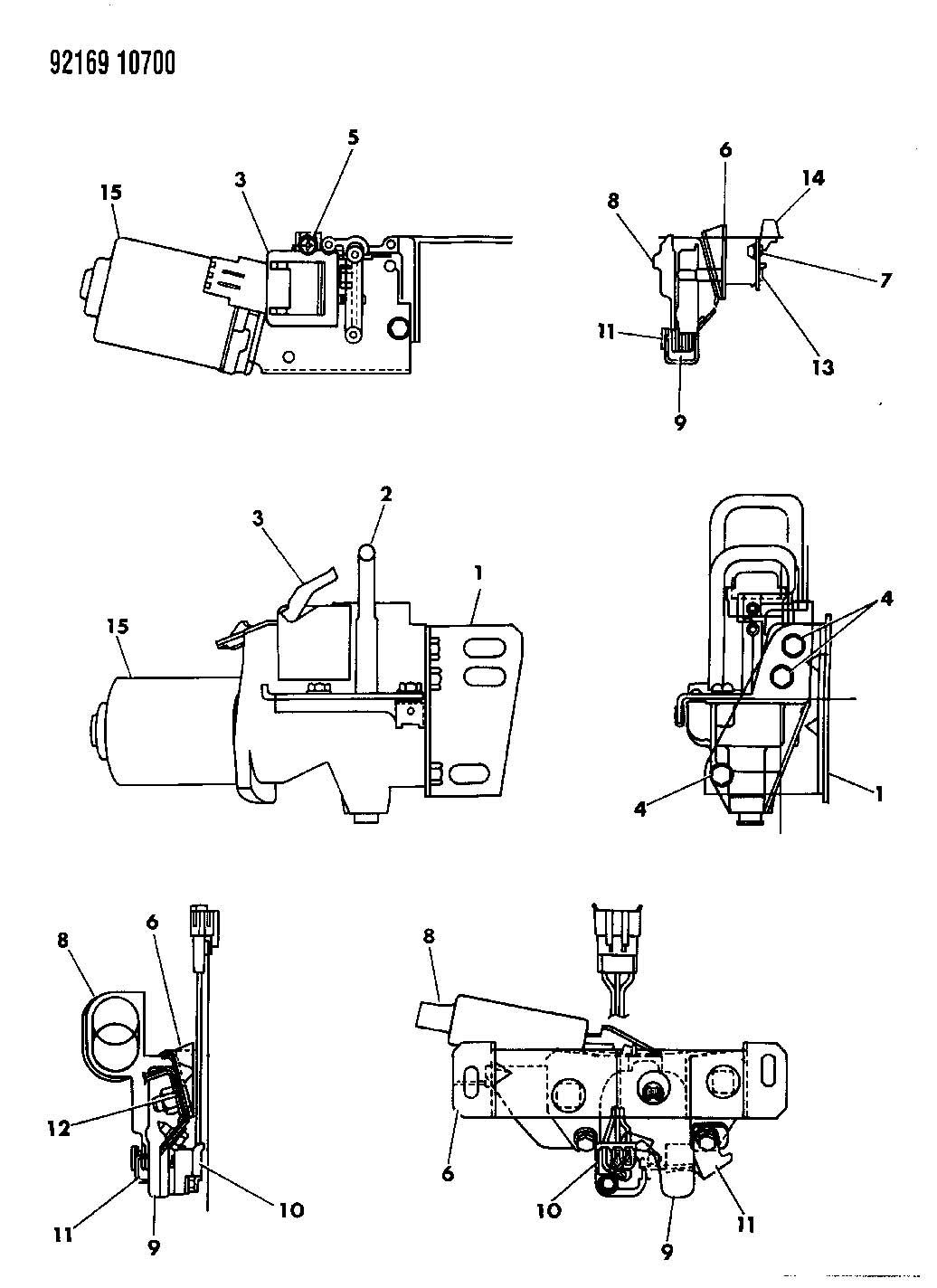 Service manual [Service Manuals Schematics 1992 Dodge