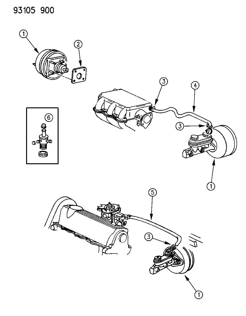 Jeep Grand Cherokee Hose. Emission control vapor. Axle