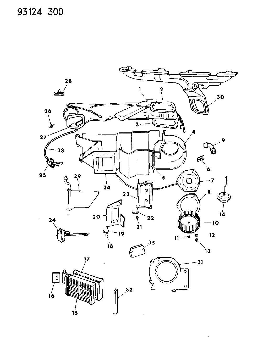 Plymouth Neon Resistor Blower Motor Pajgc Paj Insul