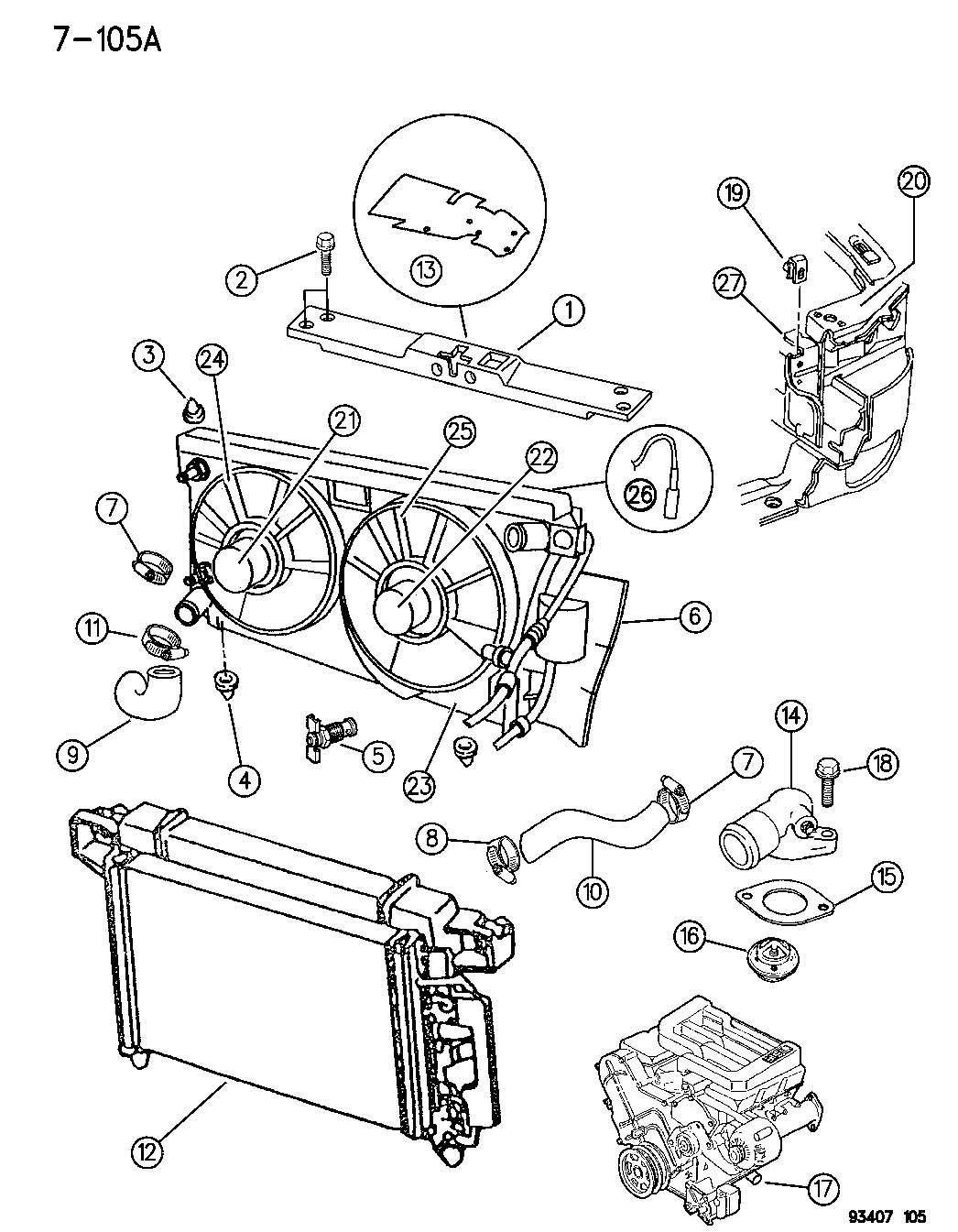 [DIAGRAM] 2000 Chrysler Concorde Radiator Fan Wiring