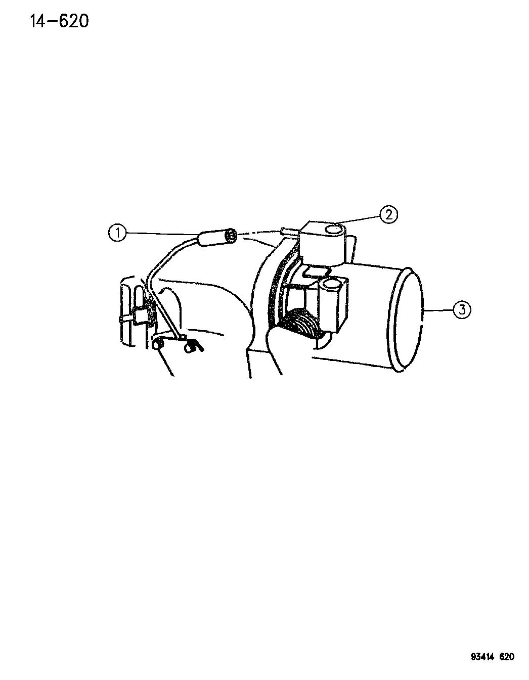 Dodge Intrepid Sensor Throttle Position