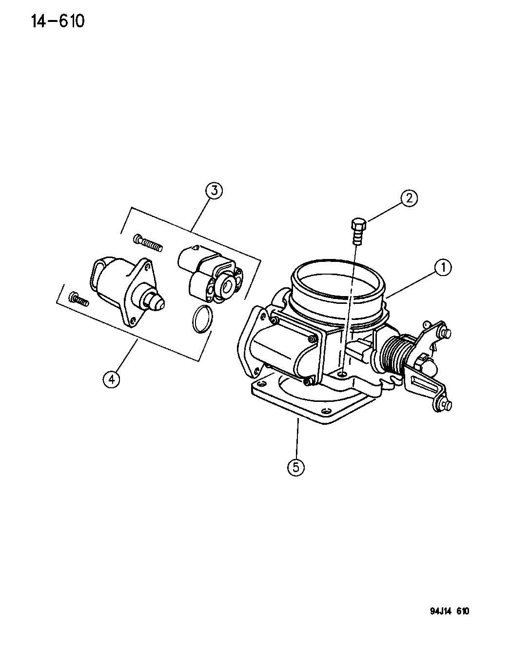 Jeep Throttle Body