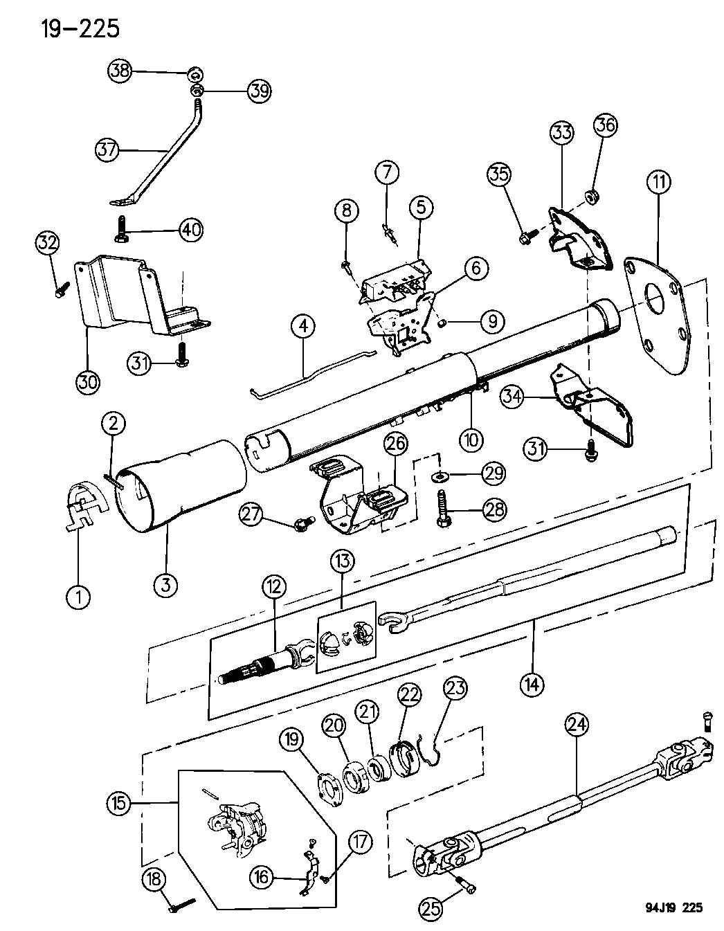 Service manual [Changeing Gear Shift Assembly 2004 Jeep