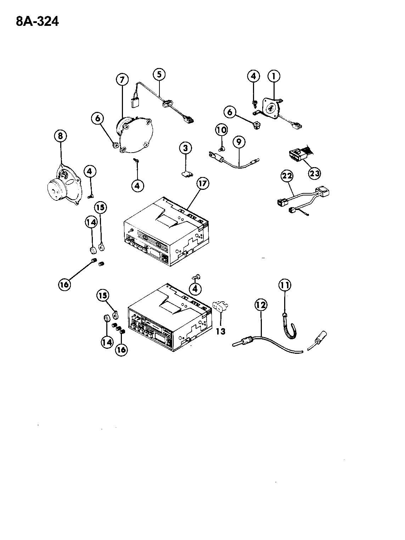 Chrysler Sebring Knob. Radio volume control. [am/fm cass