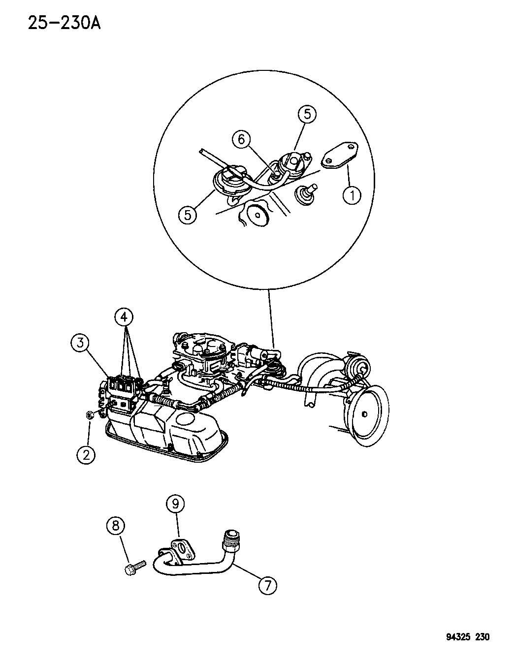 Dodge Dakota Solenoid Duty Cycle Purge Pajgh Pajgc Dot
