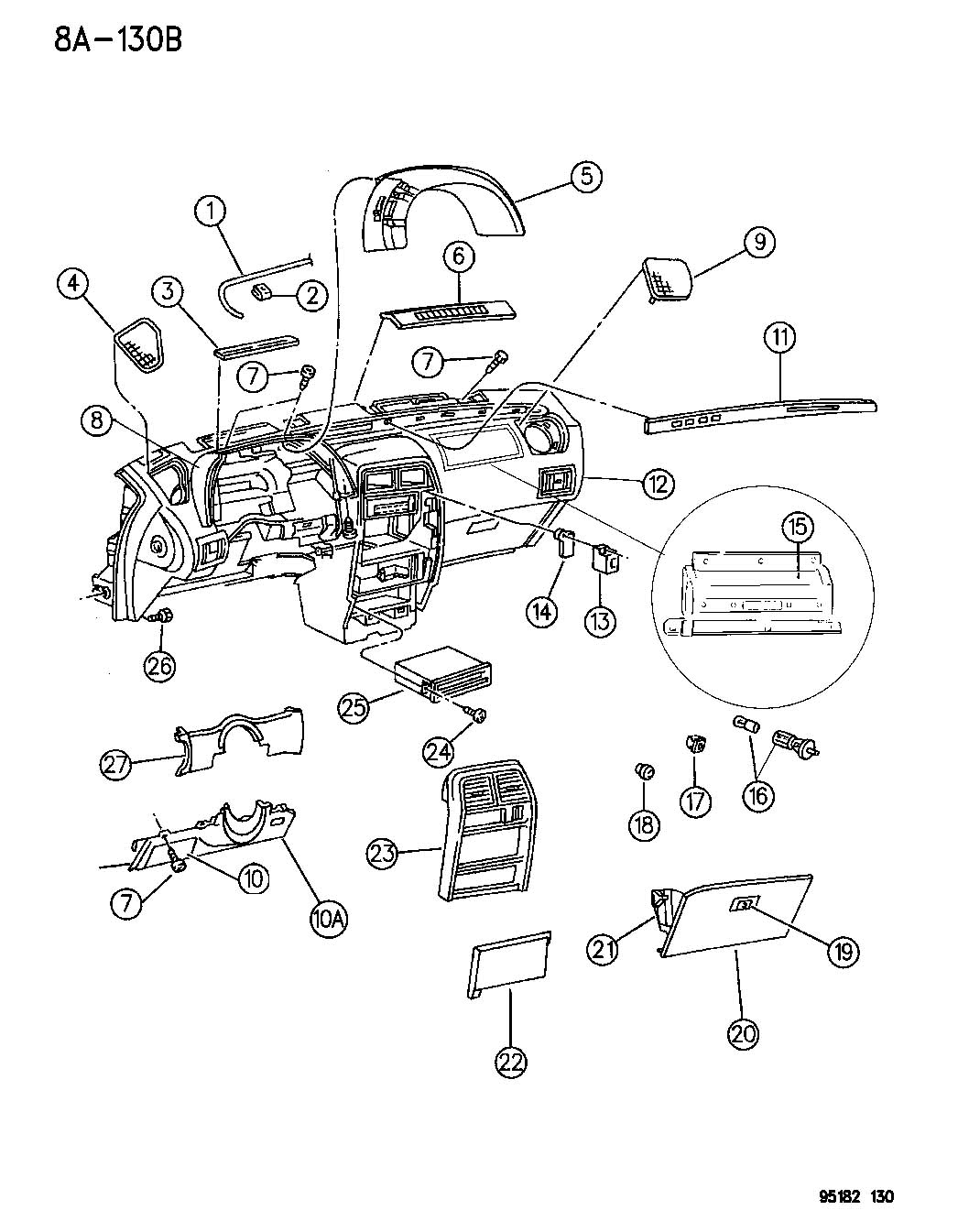 1995 Chrysler Lebaron Radio Wiring Diagram
