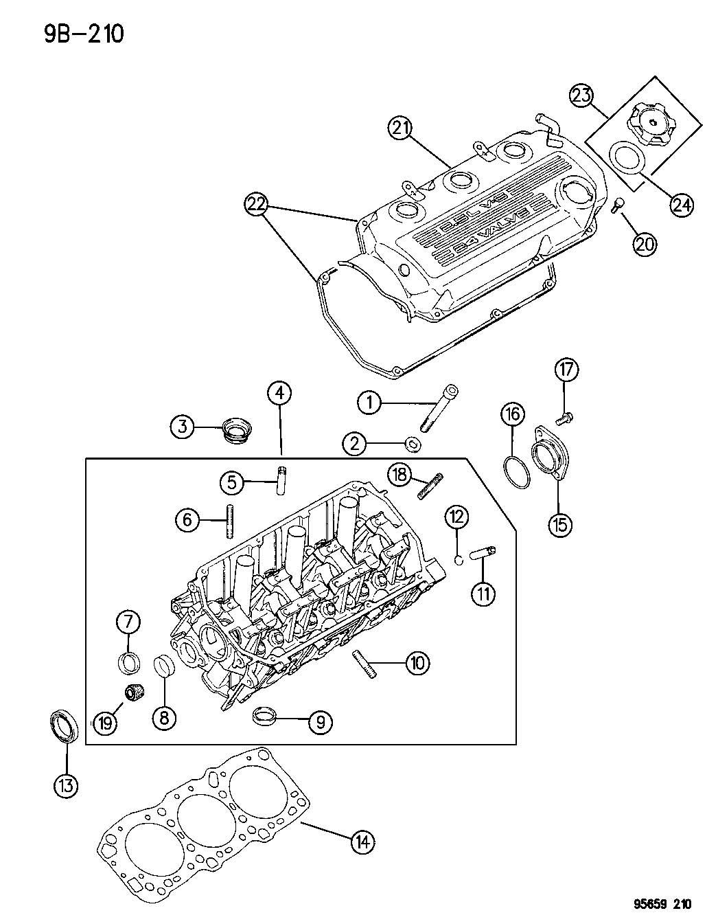 Dodge Stratus Gasket Package Engine Upper