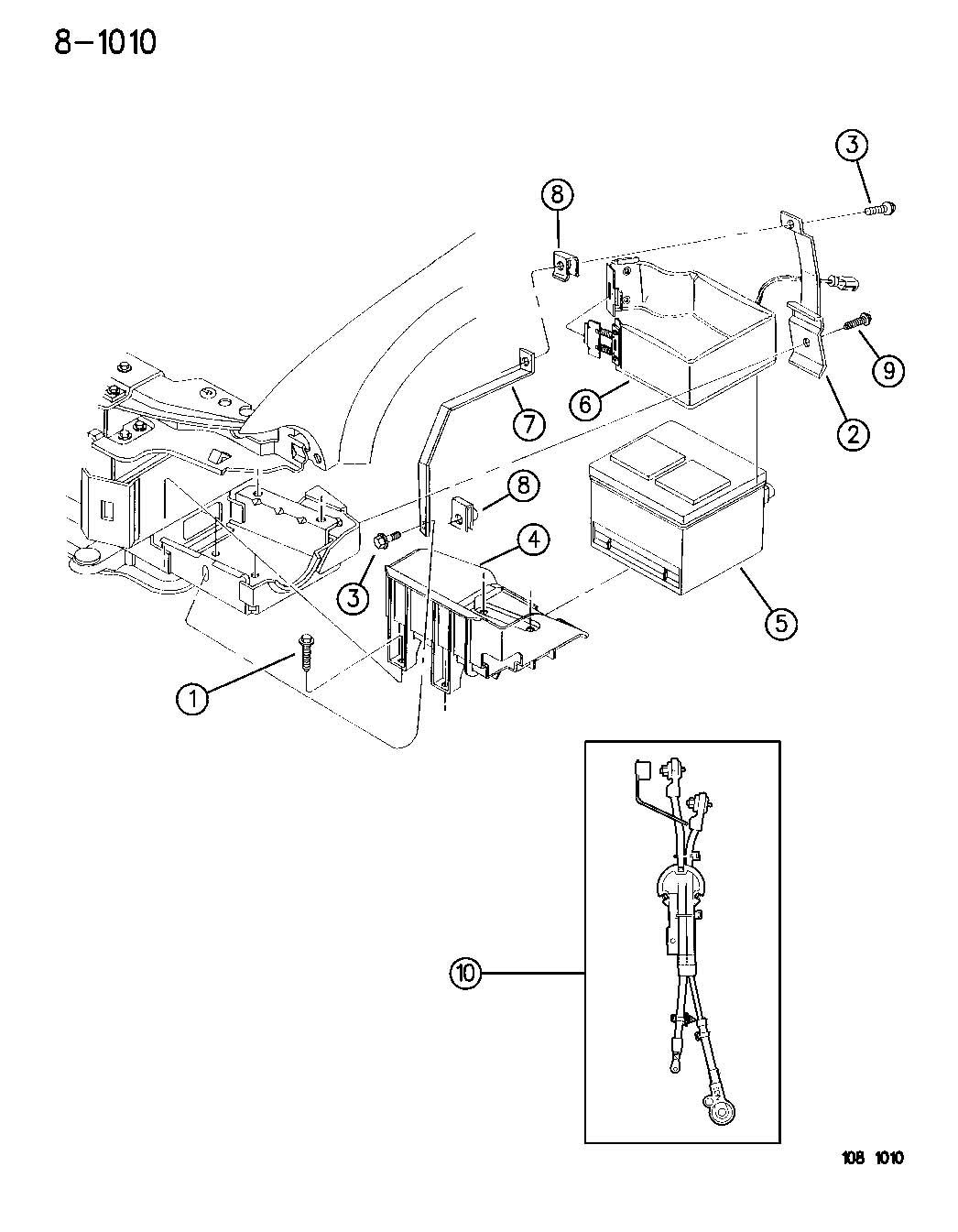 Dodge Stratus Wiring Battery Standard