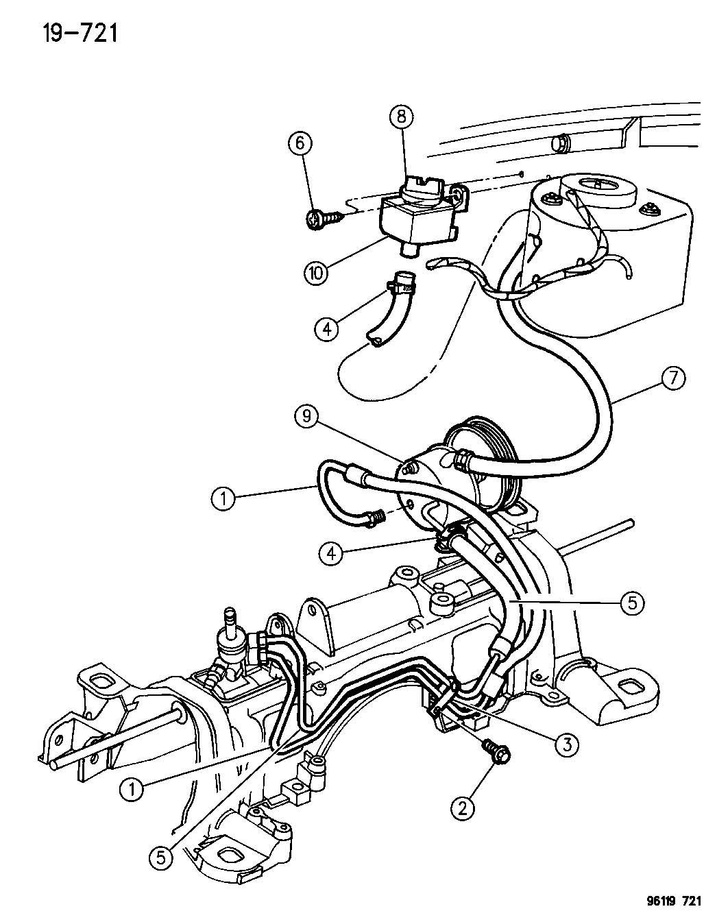 Chrysler Grand Voyager Se 3 3l V6 Reservoir Power
