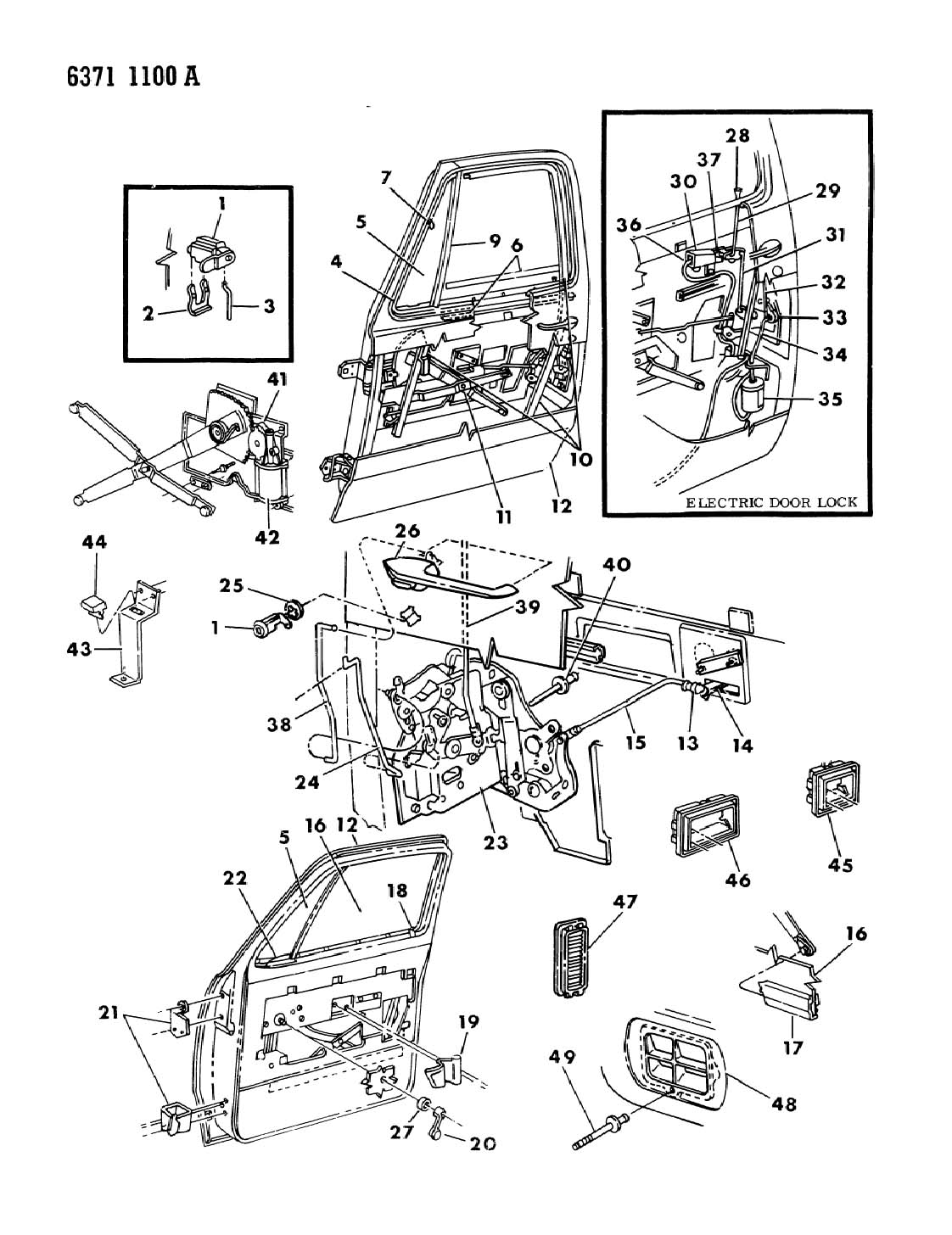 Dodge Stratus Power Window Diagram