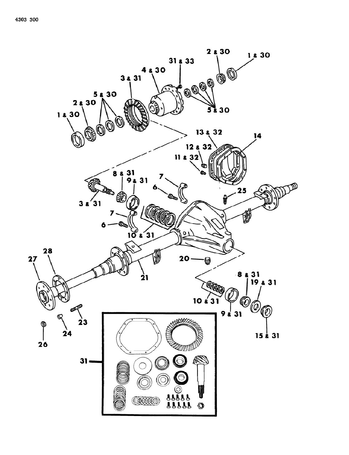 Rear Differential Parts
