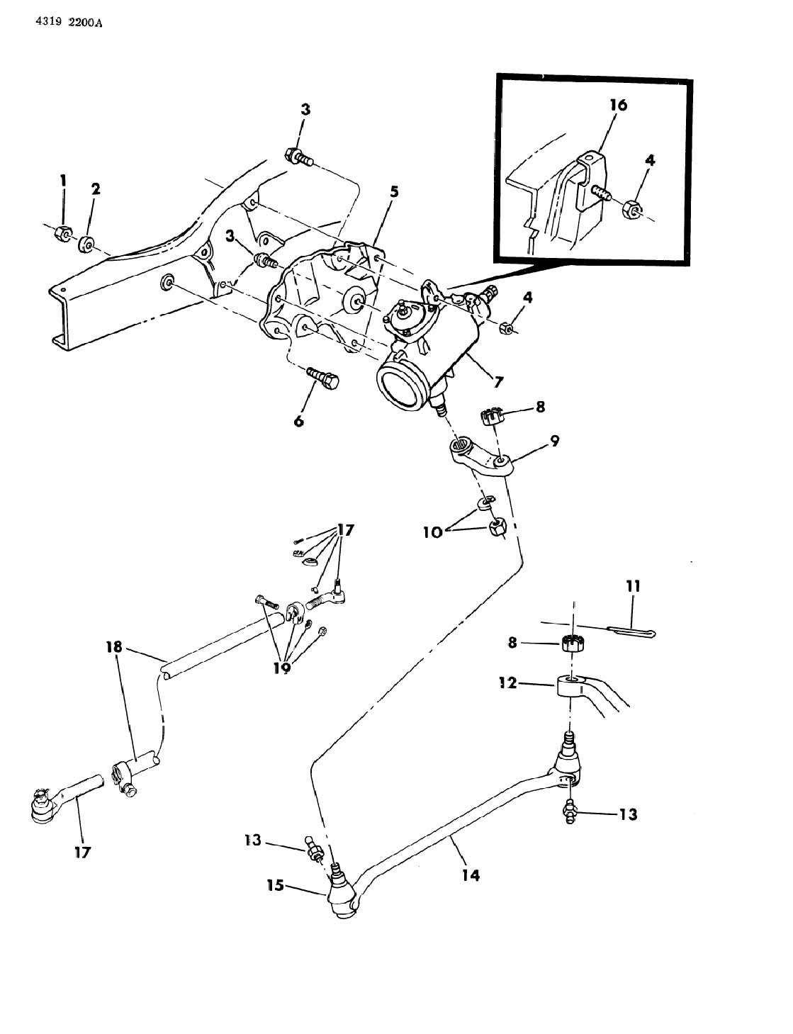 Dodge Gear Amp Linkage Steering D5 6 7 8