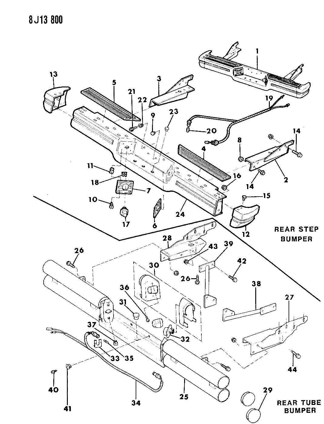 Jeep Wrangler Bolt Mounting Hex Flange Head M10x1 50x35
