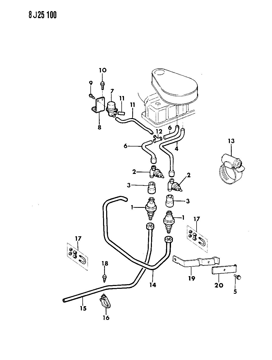 1987 Jeep Yj 4 2l Vacuum Diagram. Jeep. Auto Wiring Diagram