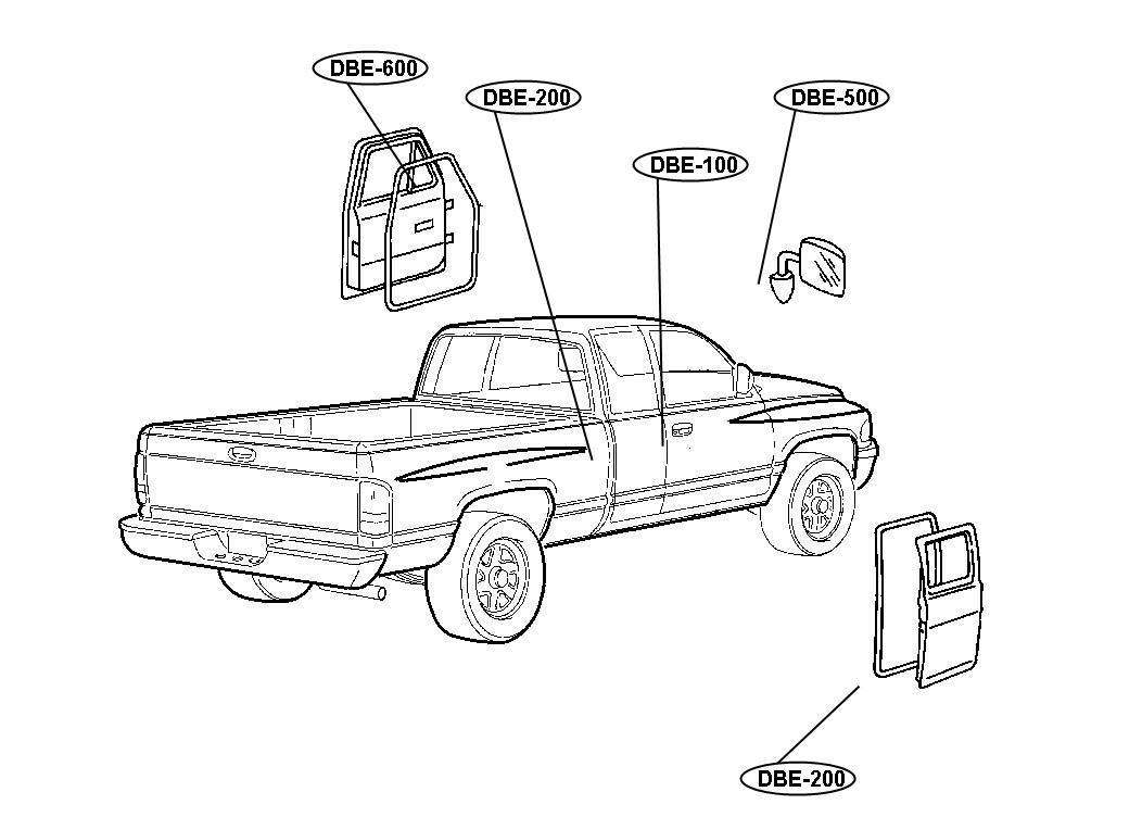 Chrysler Cirrus Hose. Leak detection pump. Ldp to canister
