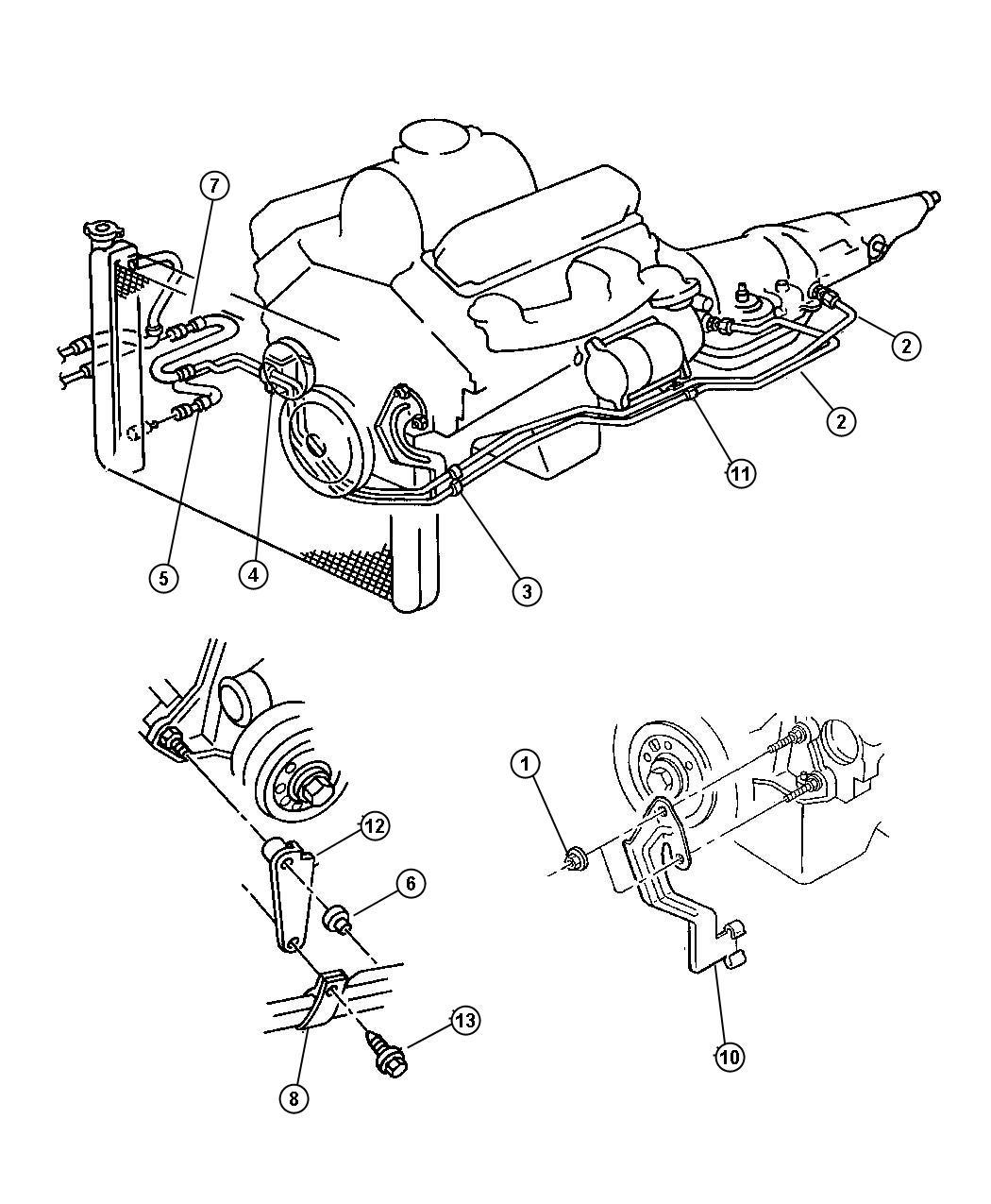 2000 Dodge Dakota CLUB CAB 6.5 FT BOX 4.7L V8 A/T