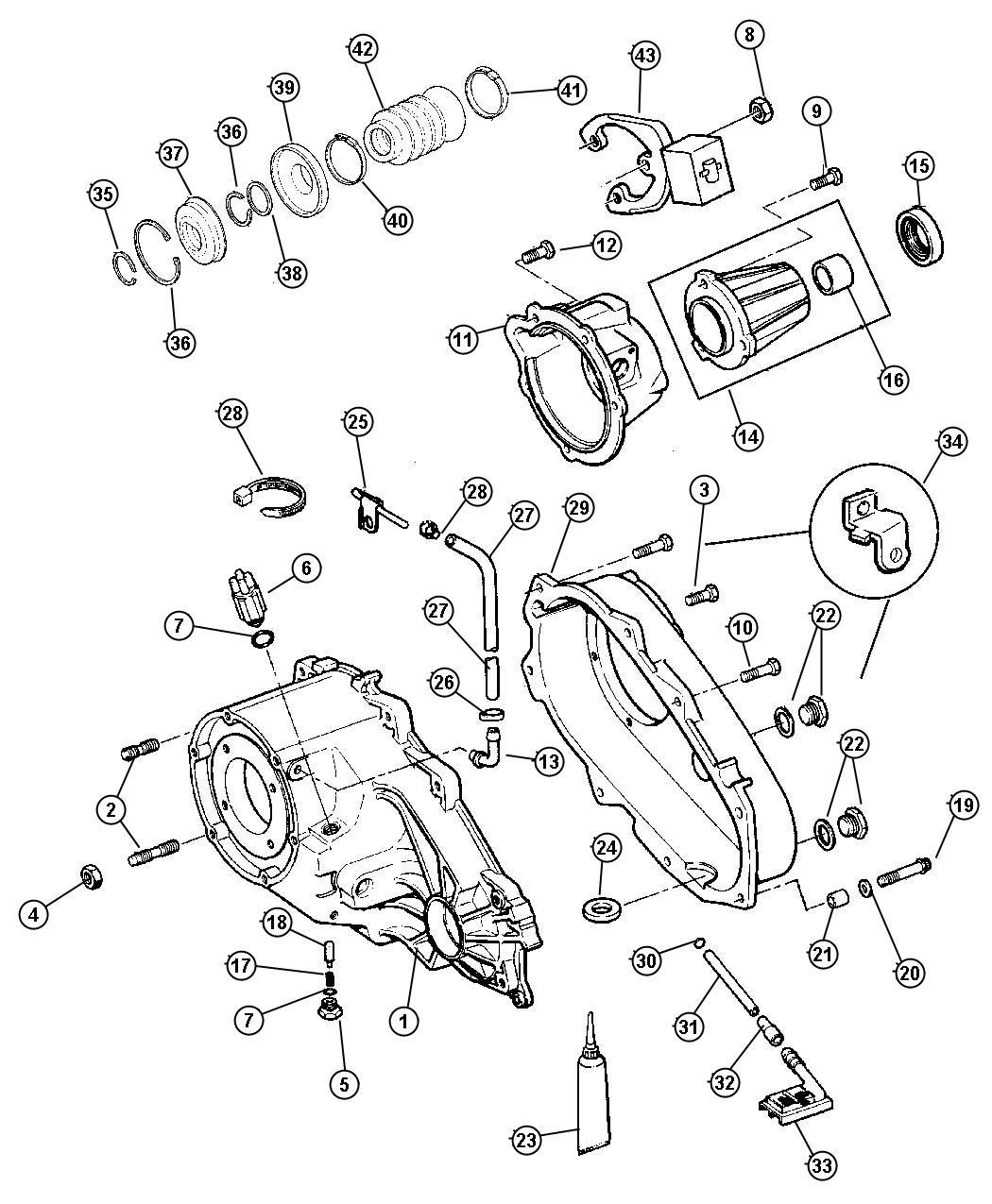 Dodge Durango Switch Transfer Case Mode